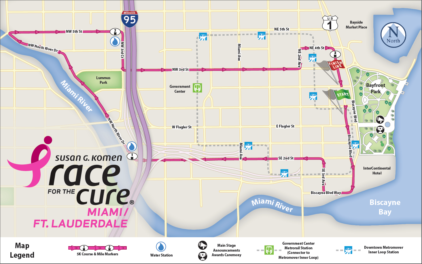 Race Course Map 2016