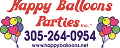 2015 Happy Balloons Parties Logo